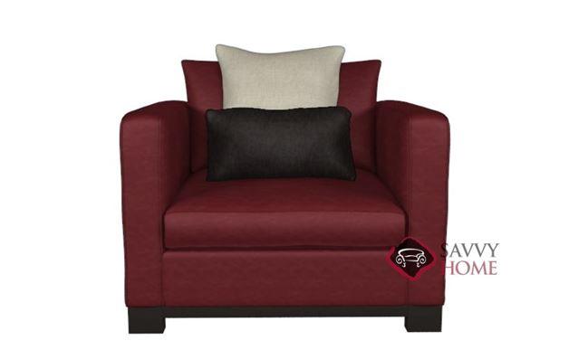 Lanai Leather Arm Chair by Bernhardt Interiors