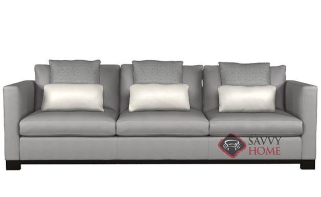 Lanai Leather Large Sofa by Bernhardt Interiors