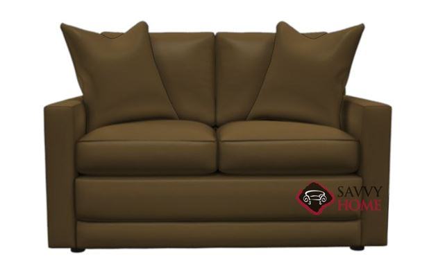 Broadway Leather Loveseat by Lazar Industries