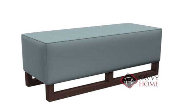 Macintosh Leather Bench Ottoman by Lazar Industries