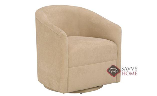 Classic Barrel Swivel Chair by Lazar Industries