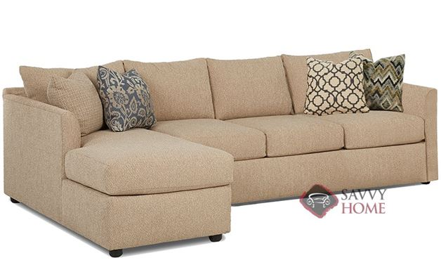 Aventura Chaise Sectional Sleeper with Queen Bed
