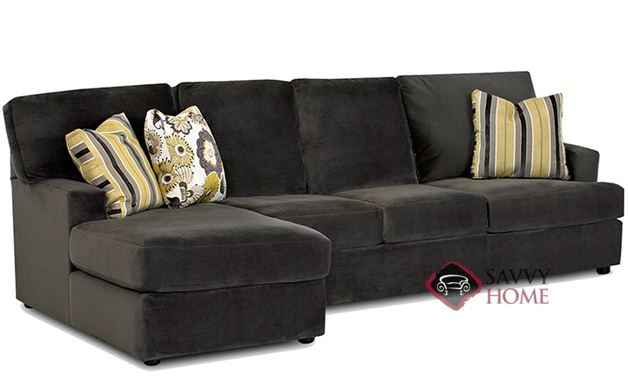 Mercer Island Chaise Sectional Sleeper with Queen Bed