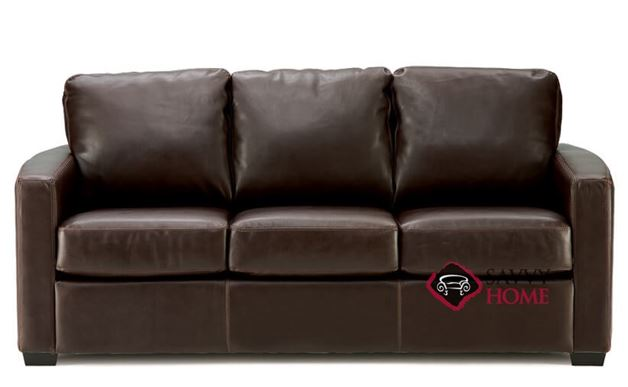 Carlten Full Leather Sleeper Sofa by Palliser