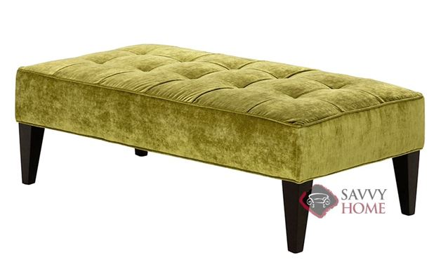 The 903 High Leg Rectangle Ottoman by Stanton
