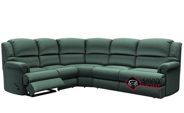 Harlow Reclining True Sectional Sofa by Palliser--Power Upgrade Available