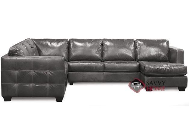 Barrett Leather U-Shape True Sectional Sofa by Palliser