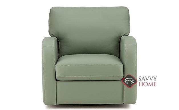 Westside Leather Swivel Chair by Palliser