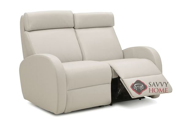Jasper II My Comfort Dual Reclining Leather Loveseat by Palliser--Power Upgrade Available