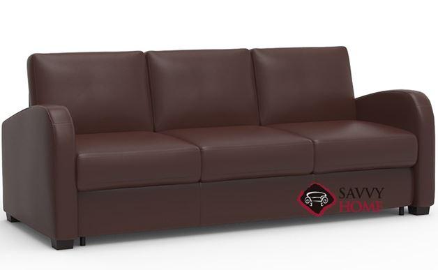 Daydream My Comfort 3-Cushion Queen Leather Sleeper Sofa by Palliser