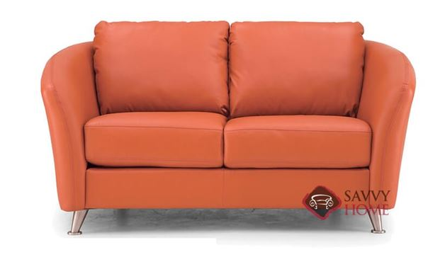 Alula Leather Loveseat by Palliser