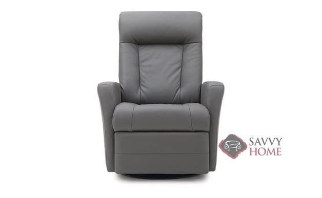 Banff II My Comfort Rocking and Reclining Leather Chair by Palliser--Power Upgrade Available