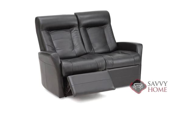 Banff II My Comfort Dual Reclining Leather Loveseat by Palliser--Power Upgrade Available