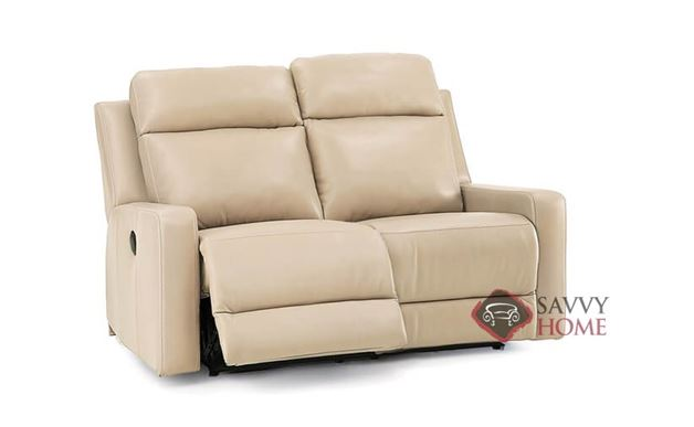 Forest Hill Dual Reclining Leather Loveseat by Palliser--Power Upgrade Available