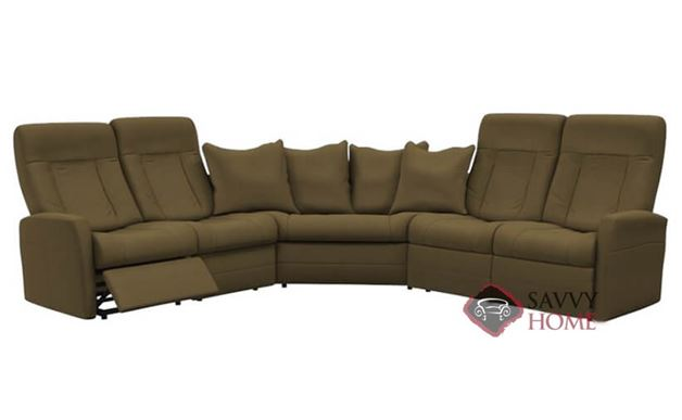 Banff II My Comfort Large Reclining True Sectional Sofa by Palliser--Power Upgrade Available