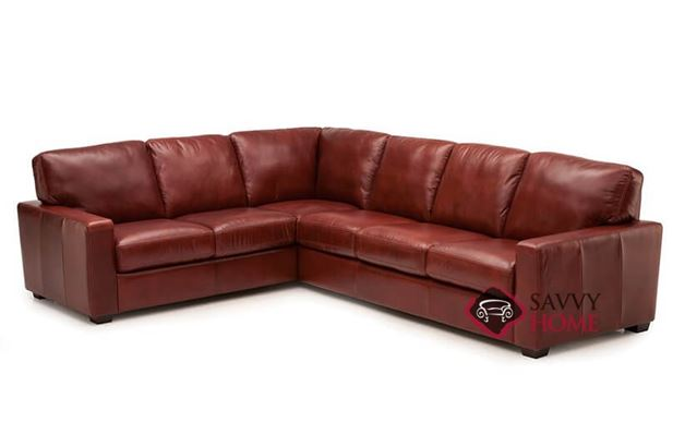 Westend Leather Large True Sectional by Palliser