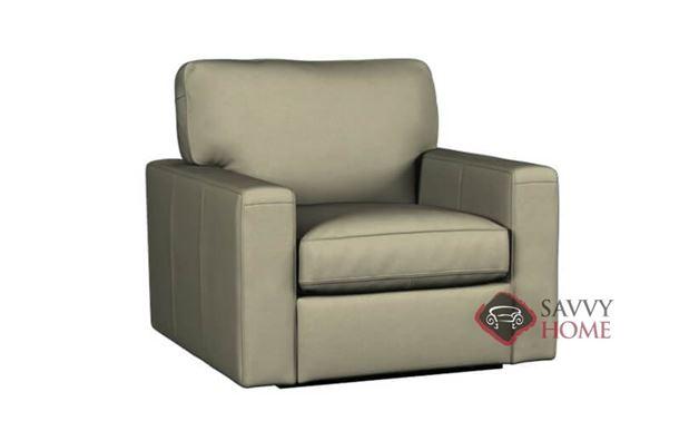 Westend Swivel Chair by Palliser in Echosuede Khaki