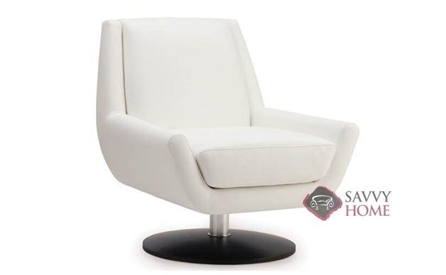 Plato Leather Swivel Chair