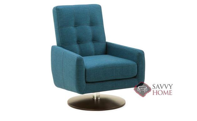 Halifax Swivel Chair by Palliser in Key Largo Turquoise