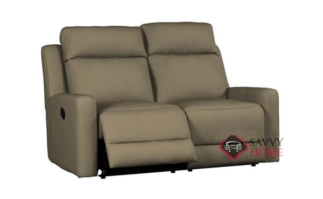 Forest Hill Dual Reclining Loveseat in Bela Braun