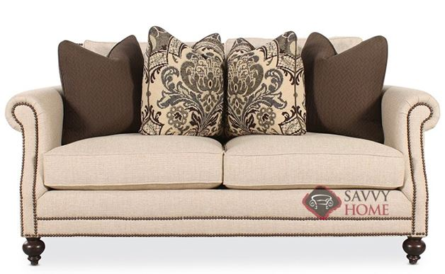 Brae Loveseat with Down-Blend Cushions by Bernhardt in 1058-200