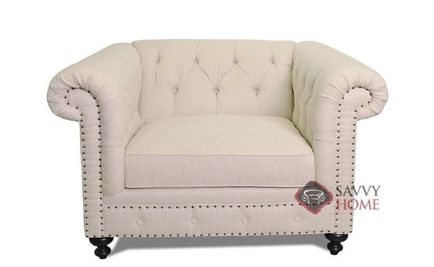 London Club Chair with Down-Blend Cushion by Bernhardt in 1741-002