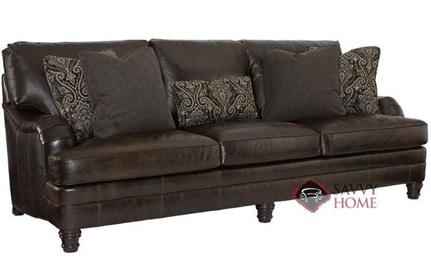Tarelton Leather Sofa by Bernhardt in 253-122
