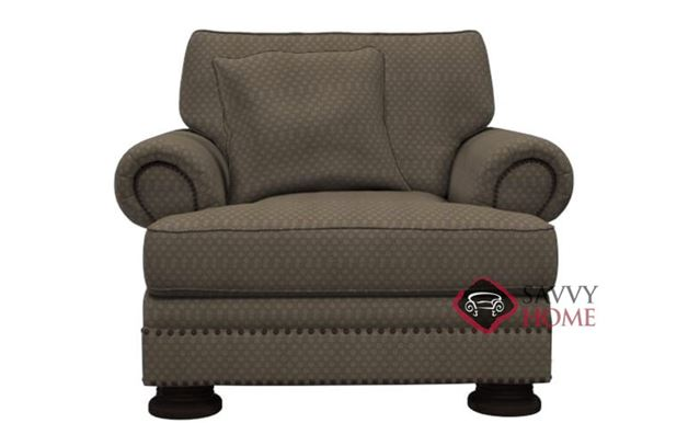 Foster Chair with Down-Blend Cushion by Bernhardt