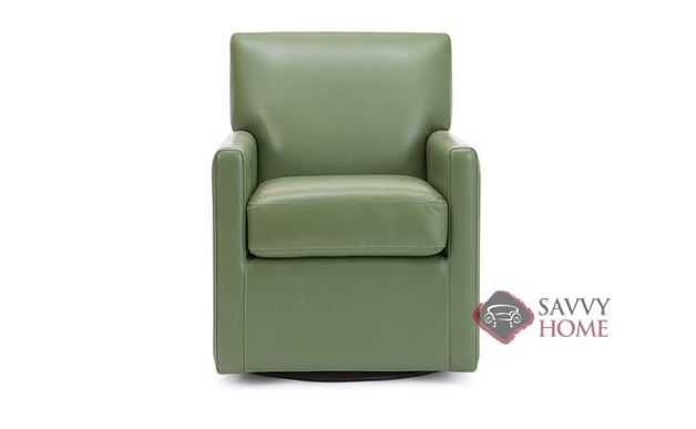 Pia Leather Swivel Chair