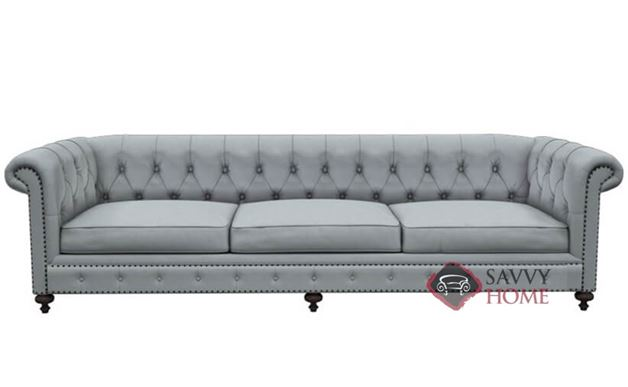 London Club Studio Sofa with Down-Blend Cushions by Bernhardt