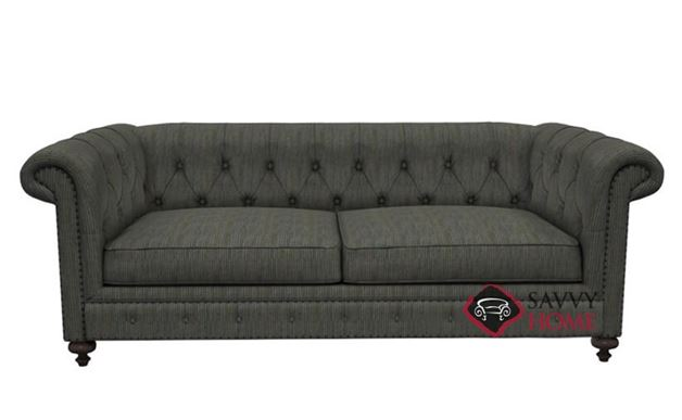 London Club Loveseat with Down-Blend Cushions by Bernhardt