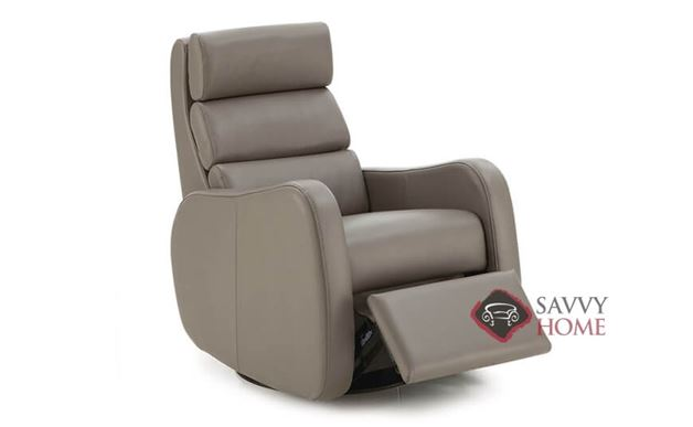 Central Park My Comfort Rocking and Reclining Leather Chair by Palliser