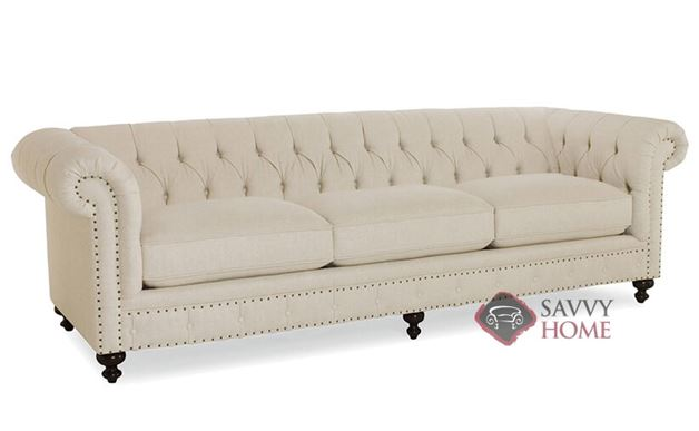 London Club Studio Sofa with Down-Blend Cushions by Bernhardt in 1741-002