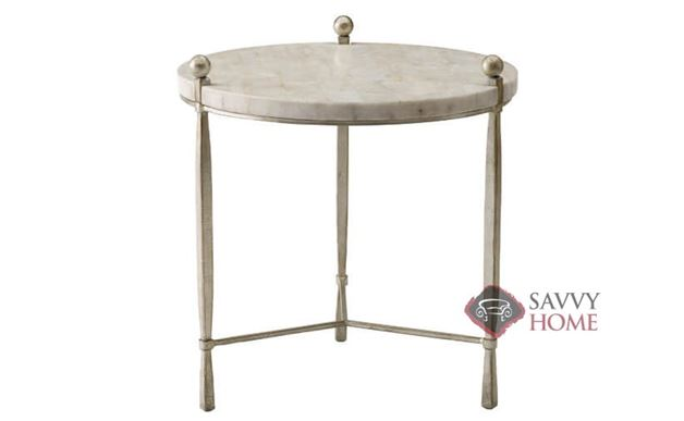 Clarion Round Chairside Table by Bernhardt