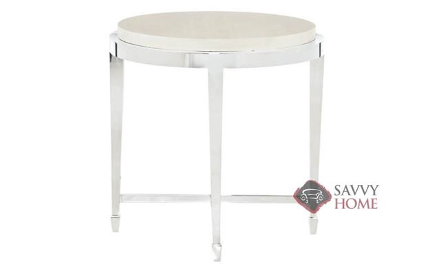 Criteria Round End Table by Bernhardt