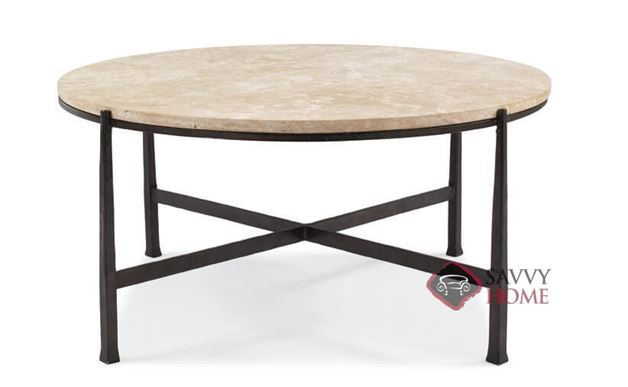 Duncan Round Metal Cocktail Table by Bernhardt Interiors