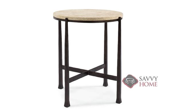 Duncan Round Metal Side Table by Bernhardt Interiors