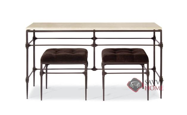 Ellsworth Metal Console Table by Bernhardt Interiors