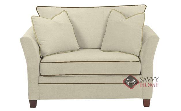 Murano Chair Sleeper Sofa in Oakley Ivory