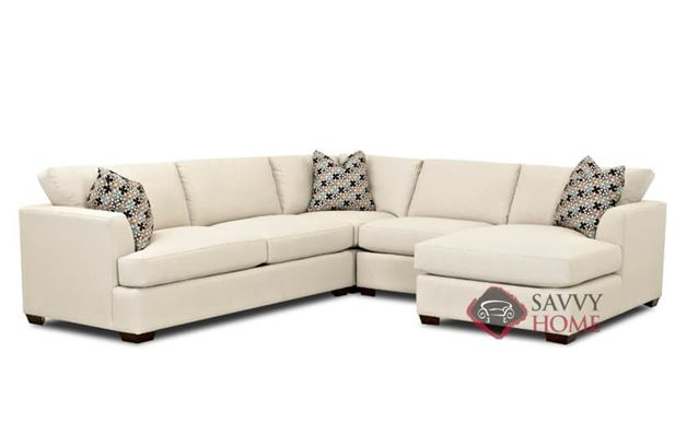 Berkeley Compact True Sectional Sofa with Chaise by Savvy