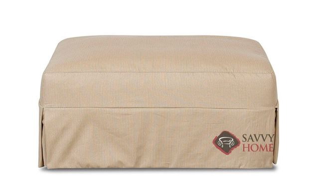 Berkeley Ottoman with Slipcover by Savvy