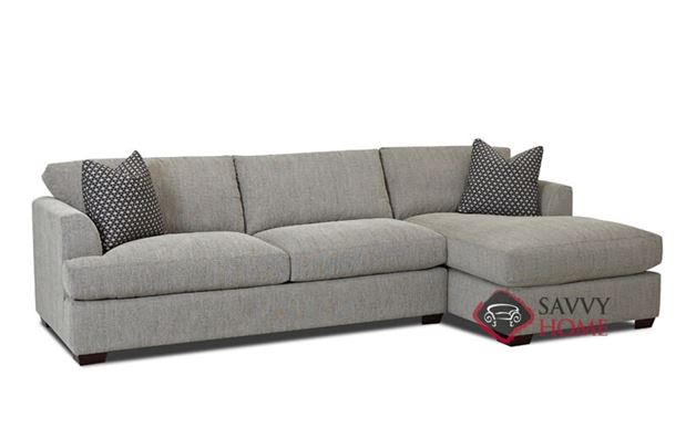 Berkeley Queen Chaise Sectional Sleeper Sofa by Savvy