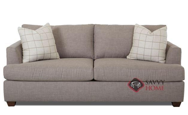 Jackson Queen Sleeper Sofa by Savvy in Fandango Stone