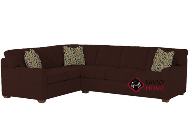 Waltham True Sectional Leather Sleeper