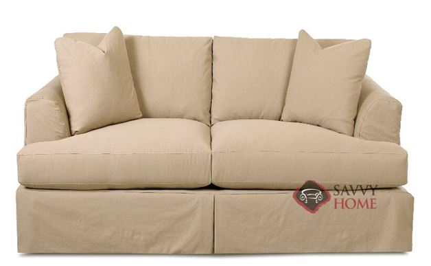 Berkeley Loveseat with Slipcover by Savvy