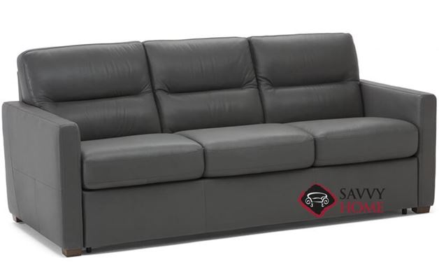 Conca Queen Leather Sofa Bed by Natuzzi Editions (C010-530)