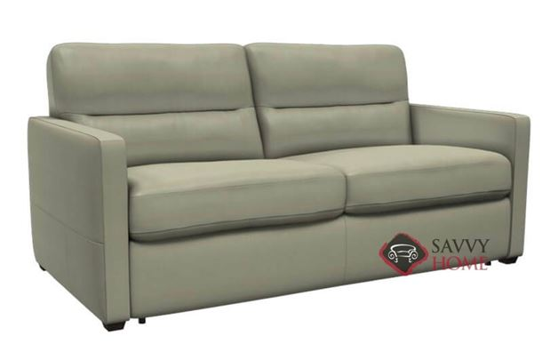 Conca (C010-529) Full Leather Sleeper Sofa by Natuzzi Editions