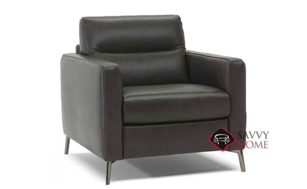 Caffaro (C008-003) Leather Chair by Natuzzi Editions