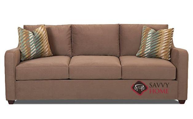 Glendale Sofa by Savvy in Oakley Mocha