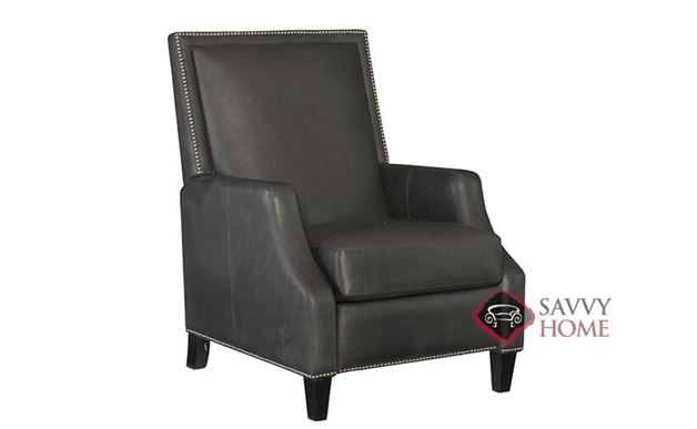 Forrest Leather Recliner with Down-Blend Cushions by Bernhardt in 211-111